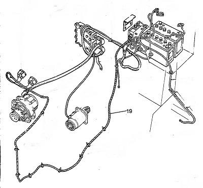 24 Volt Ammeter Harness