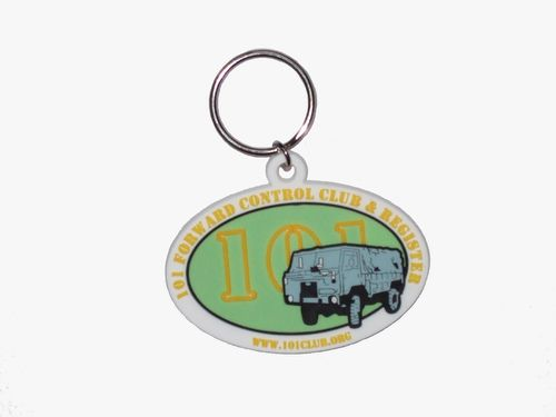 101 Rubber Key Ring