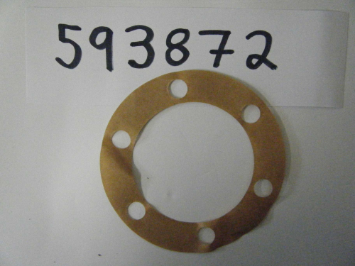 Hub drive flange joint washer