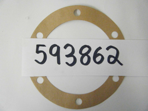 Stub axle gaskets front