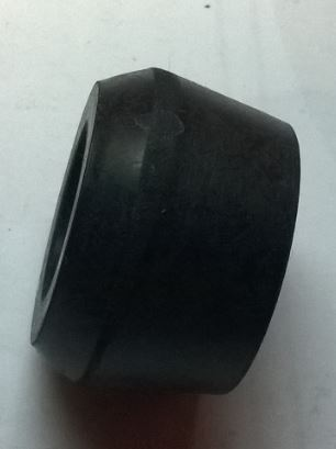 Anti-roll bar connecting link mounting rubber bush