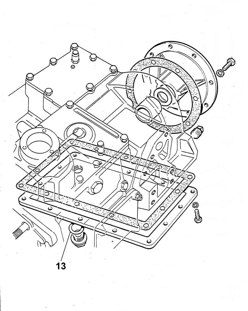 gearbox drain plug gasket