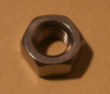 Rear brake wheel cylinder fixing nut